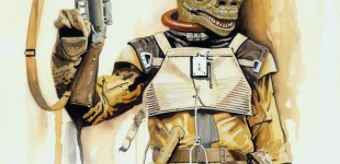 15 new Brian Rood Star Wars Watercolor paintings to debut in Topps Galaxy 6 set!