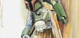 Star Wars Weekends, Brian Rood art debut!